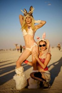 A predator might assume that Burning Man is nothing but wall-to-wall hot women, as far as the eye can see….