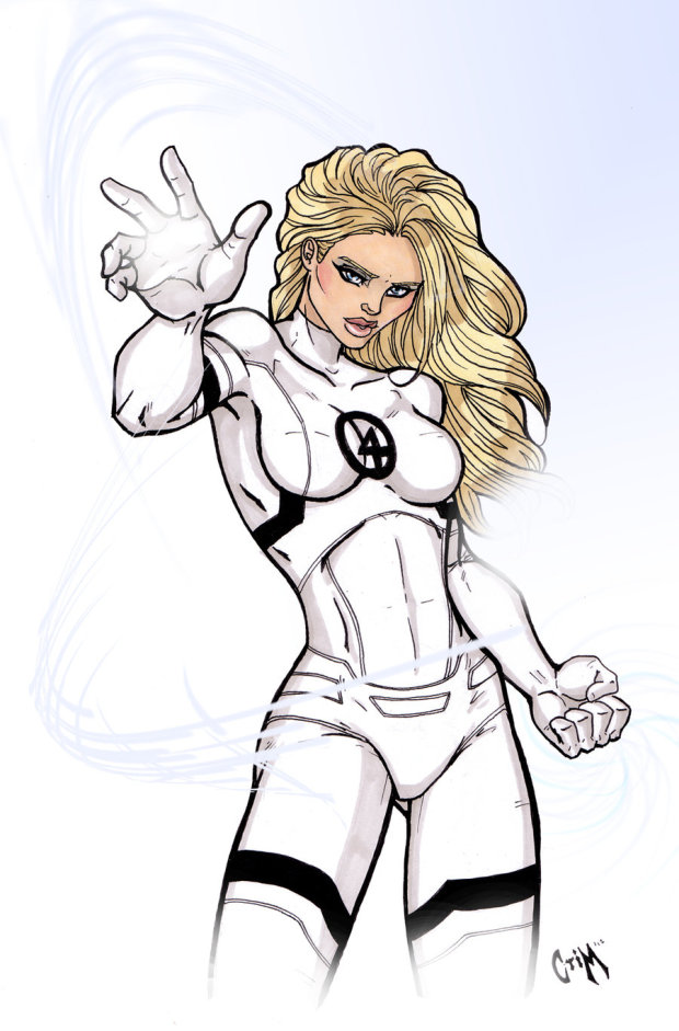 This invisible woman gets a whole lot more attention than I ever did.