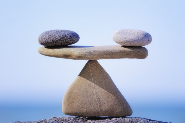 A balanced relationship contains good and bad.