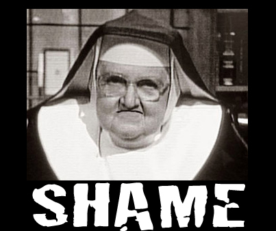 Once upon a time, the Catholics had a monopoly on shame, but these days it's a national pastime.
